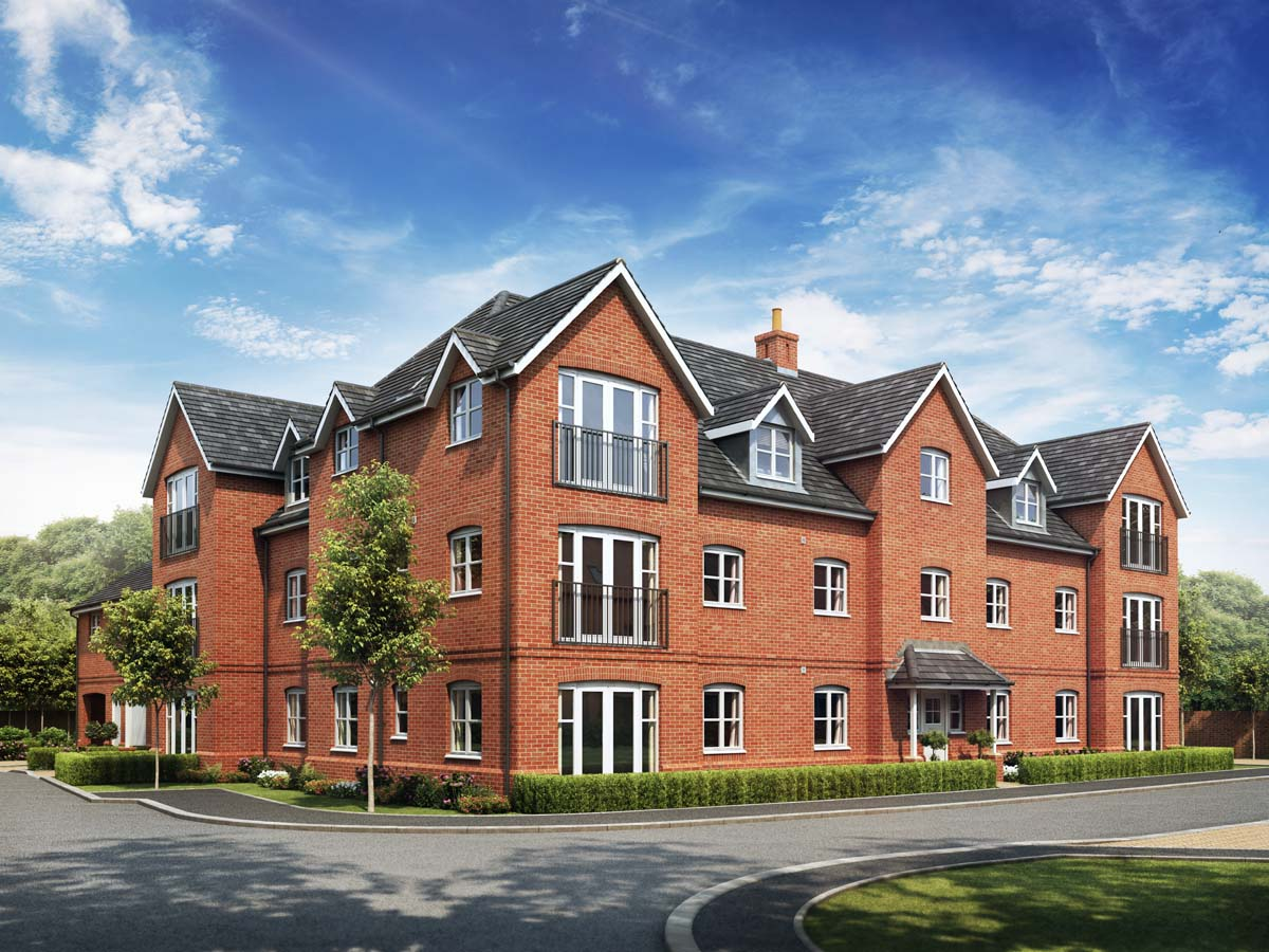 Apartment off plan selling at Oakham Park
