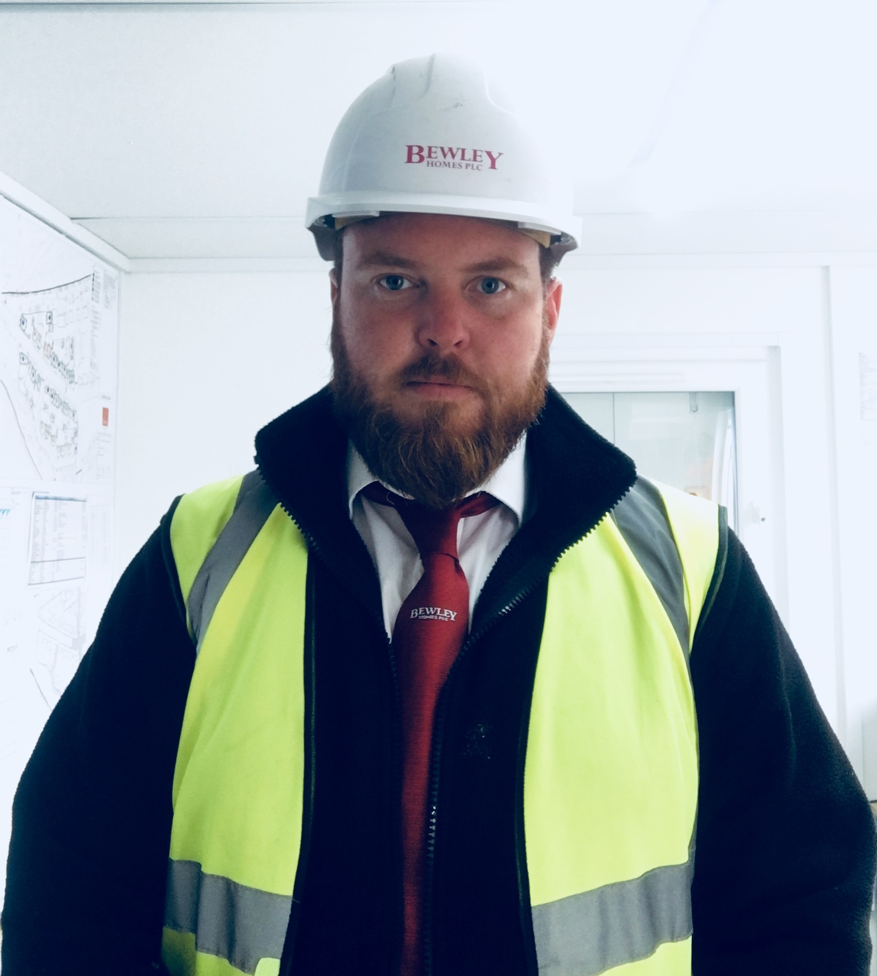 Meet Dominic Godden, Assistant Site Manager for Bewley, currently working at Ash Lodge Drive.